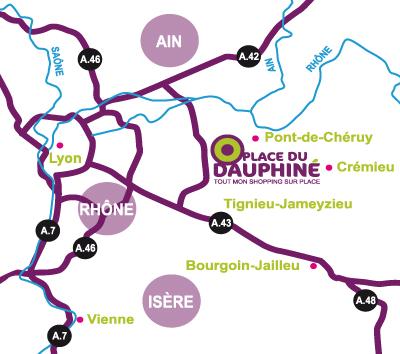 acces place du dauphine